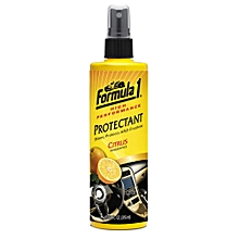 Formula1 High Performance Protectant – Citrus Fragrance Protectant 10/04 oz (315 ml)-Cleans Car Interiors and Exteriors – Shines and Protects