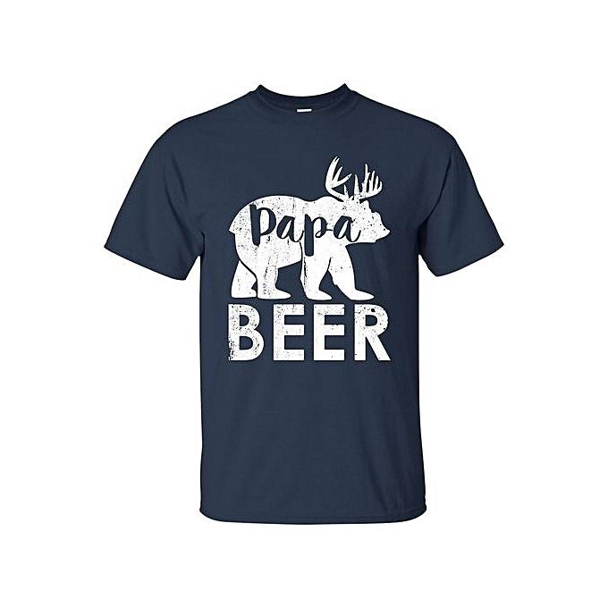 854c1d57cb5e Hot Sell Papa Beer Funny Papa Bear Shirt World's Best Step Dad T Shirt  Perfect Cool