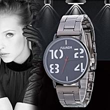 Women Ladies Casual New Design Alloy Strap Quartz Wrist Watch B