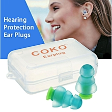 25db Hearing Protection Ear Plugs Noise Reducer For Concert Study Sleep Party