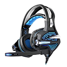 Kotion Each GS100Z 7.1 Surround Gaming Headset Headphone with LED Light Microphone Wire Control