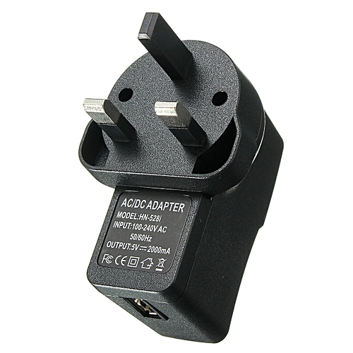 AC to DC5V/12V 2A 2000mA Power Supply Adapter Wall Charger Converter UK Plug