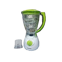1.5 L White-Green 2 in1 Blender with Grinder