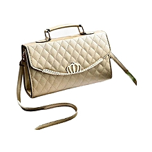 Women Handbag-Gold