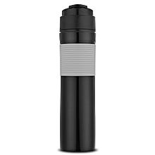 300ml Portable French Press Coffee Maker Vacuum Insulated Travel Mug BLACK