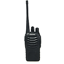 2pcs BAOFENG BF-888S Walkie Talkie with High Brightness Flashlight-BLACK