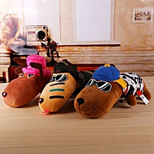 KCASA KC Long Mouth Dog Stuffed Plush Toy Bubble Particles Bamboo Charcoal  Car Deodorant Ornaments