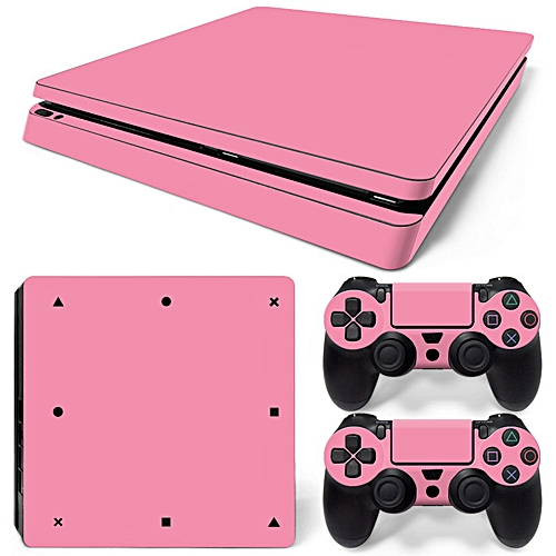 Sticker For PS4 SLIM Console Controller Decal Cover Skin Set