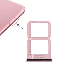 2 x SIM Card Tray for Vivo X9s(Rose Gold)