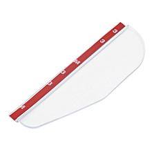 Rear Mirror Rain Board Eyebrow Visor Shade Shield Water Guard For Car Truck - White