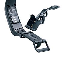 USB Data Sync Charger Cable For Garmin Vivosmart HR/HR+-Black