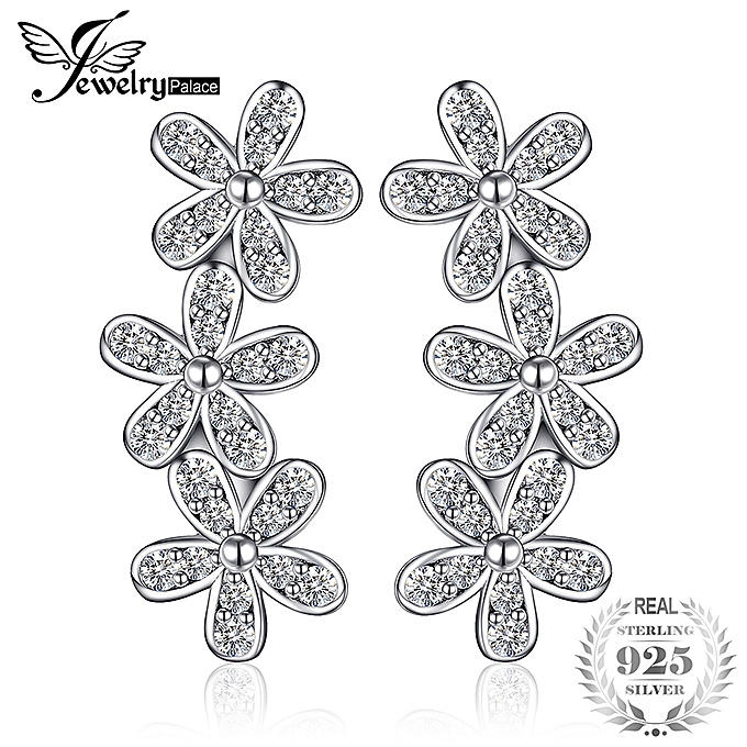 3cf8cf9d20d57 Jewelrypalace Dazzling Daisies Earing Studs S925 Silver