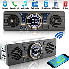 Bluetooth Car Radio MP3 Player Stereo Audio AUX Media USB FM TF Bass Speaker