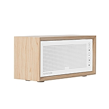 HARMONY: Beige Promate Wireless Bluetooth Speaker, Portable Hi-Fi Stereo Speaker with 10W HD Sound Quality, Built-In Mic, FM Radio, Micro SD Card Slot, USB Input and AUX Line-In for iPhone X, Samsung S9 and S9+