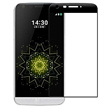 3D Edge Full Curved Coverage Tempered Glass Film Screen Protector For LG G5 -Black