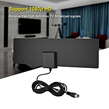 TV Antenna Ultra-thin Indoor High Gain Digital HD TV Antenna with Amplifier