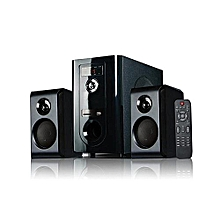 SHT1094BT - 2.1 Channel Sub-woofer - 6000W PMPO - BLUETOOTH/USB/FM/MMC - Black