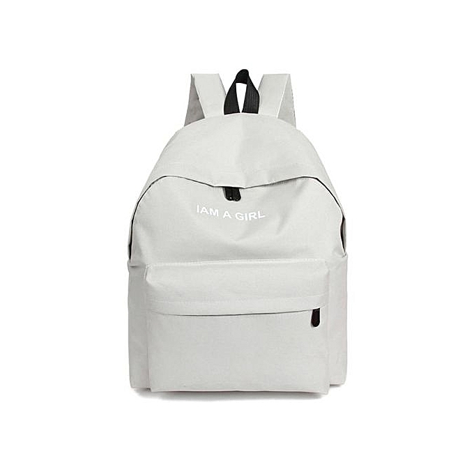 23d4684674 Seioure Unisex Boys Girls Canvas Rucksack Backpack School Book Shoulder Bag  WH As Shown ...