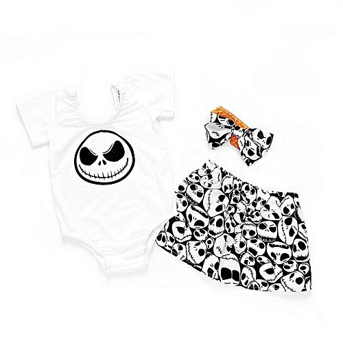 e1ff534c25abad Fashion 3PCS Newborn Baby Girl Clothes T-shirt Tops+Pants+Hat Outfits Set