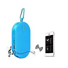 F8 - Bluetooth 3.0 Speaker With Hook - Blue