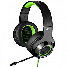 EDIFIER G4 USB 7.1 Channel Sound Headband Game Headset with Remote and Mic-BLACK