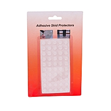 50pc - Adhesive Skid Protector set  - Clear