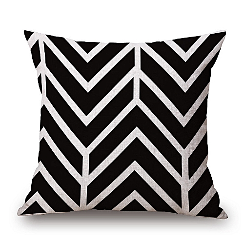 Africanmall store Cushion Cover Cotton Linen Throw Pillow Case Square Pillowcase -As shown