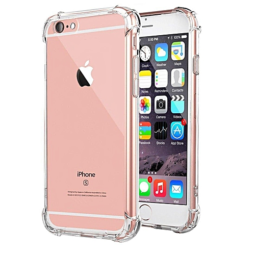 best service 5ad13 91585 IPhone 6 Case, for iphone 6s Case, Clear Shockproof Bumper Case Transparent  Silicon TPU Cover For IPhone 6 / 6S 4.7 Inch 237207 Color-3