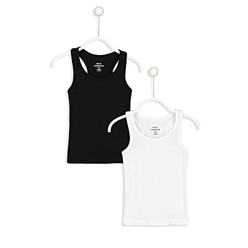Boy Black Underwear TankTop Set