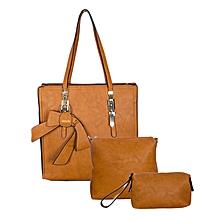 3 In 1 Caramel Handbag