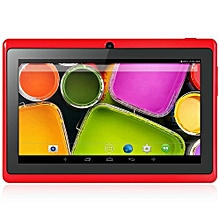 7 Inch  Android 4.4 Tablet Quad Core 1.2GHz 512MB RAM 8GB ROM _RED