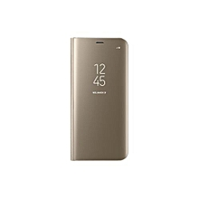Galaxy S8 Clear View Cover - Gold