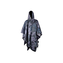 Rain Coat Hood Cloak Adult Colorful Unisex Cover Outdoor Disposable Poncho Mantle Accessories