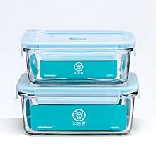 Xiaomi ZWZ 715ml Drop-resistant Tempered Glass Food Preservation Box