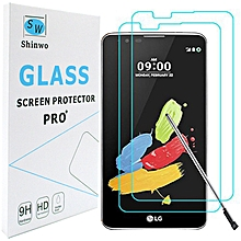 LG Stylo 2 V Tempered Glass Screen Protector (2 Pack)