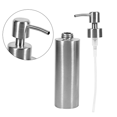 Buy Universal 350ml Stainless Steel Kitchen Sink Soap Dispenser