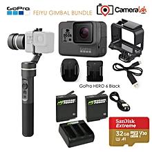 GoPro HERO6 Feiyu GIMBAL BUNDLE with SanDisk Extreme 32GB WWD