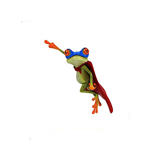 3D Car Frog Sticker Funny Decal High Temperature & Water Proof For Car Body  Car Window