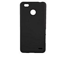 Spark K7 Back Cover - Silicone Rubber Finish (Black)