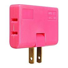 Colorful 1 to 3 US Plug Adapter Switch Flat Adjustable Angle