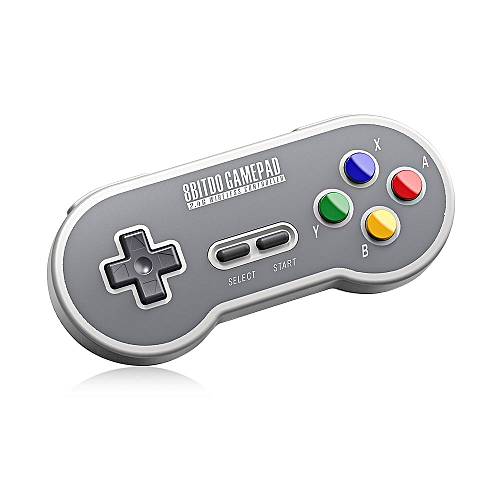 8Bitdo SF30 Wireless Controller with 2 4G NES Receiver Classic Joystick  Gamepad for Android PC Mac