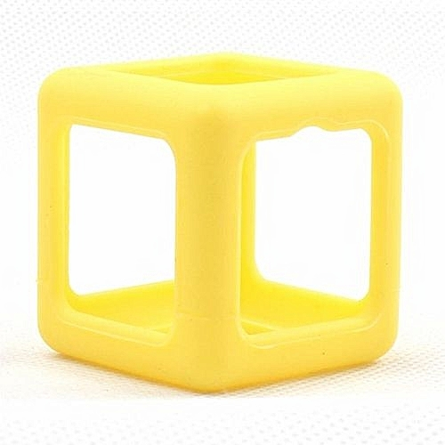Fidget Cube Protective Cover Case Stress Relief Anti Anxiety Magic Dice Toy Prismatic Shell Yellow