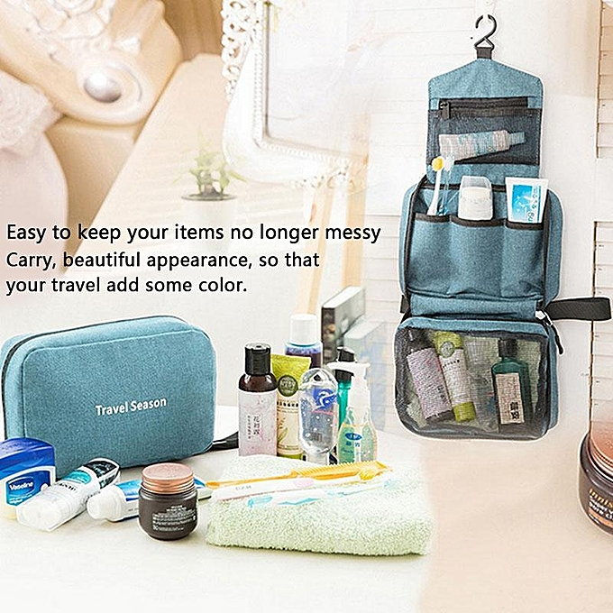 ... Waterproof Traveling Storage Handbag Portable Cosmetic Bag Bathroom Organizer Hanging Bag,6 Colors ...