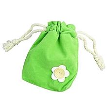 bluerdream-1x Finger Monkey Bags Portable Kids Play Storage Bag Toys Rug Box For Finger Monkey-Green
