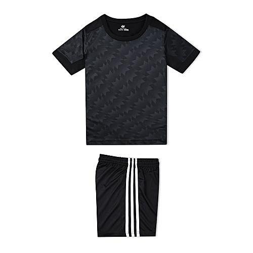 Longo Customized World Cup Children Kids Boy And Girl s Football Soccer  Team Sports Training Jersey-Black 9c3b02dfa
