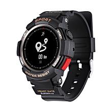 F6 - Smartwatch 350mAh Camera Bluetooth 4.0 Waterproof - Black