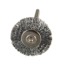 1Pcs Steel Wire Brush / Copper Wire Brush Drill Buit 22MM