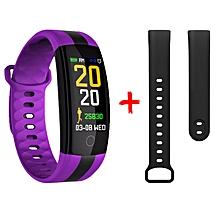 TF7 Smart Bracelet Heart Rate Bracelet Sleep Monitoring Waterproof Sport Watch purple