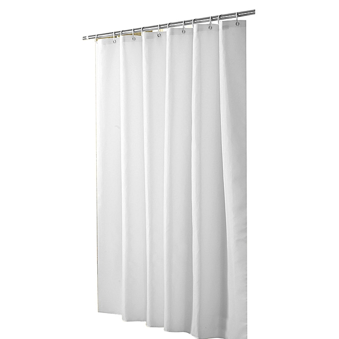 2019 Bewelide Mildew Resistant Anti Bacterial Shower Curtain Liner Eco Friendly Decoration White