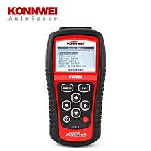 KW808 Auto OBDII EOBD Scaner Diagnostic Tool Errors Code Reader Scanner OBD2 MS 509 OBD 2 II Scan PK MS-509 MS509 LBQ